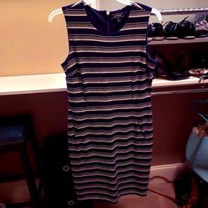 Land's End Striped Dress size 12